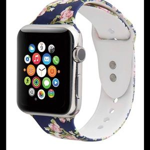 Apple Watch band sport flower silicone 38/40mm New